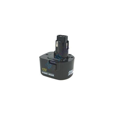 Black & Decker Fúrócsavarozó Firestorm CD431K felújítás - Ni-Mh 2-3Ah 12V