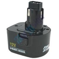 Black & Decker Fúrócsavarozó Firestorm CRT129K felújítás - Ni-Mh 2-3Ah 12V