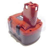Bosch akkus csavarozó GSR 14,4VPE2 NiCd akku felújítás lapos - Ni-Mh 2-3Ah 14,4V