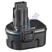 DEWALT ütvecsavarozó DW052K2 akkumulátor felújítás - Ni-Mh 2-3Ah 12V