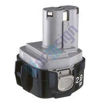 Makita lámpa ML122 akku felújítás-NiMh 3Ah 12V