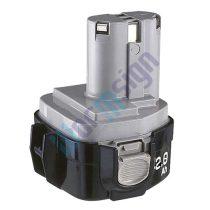 Makita lámpa ML124 akku felújítás-NiMh 3Ah 12V