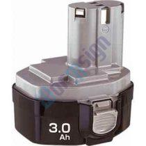 Makita szerszámgéphez 4333DWD akku felújítás-NiMh 3Ah 14,4V