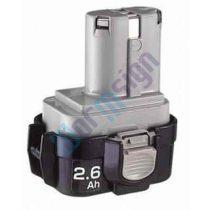 Makita lámpa ML902 akkumulátor felújítás-NiMh 3Ah 9,6V