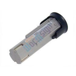 Panasonic elektr. kinyomópisztoly EY3652D akku felújítás - Ni-Mh 2-3Ah 2,4V