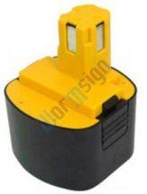 Panasonic Impact Wrench EY6588CQ akku felújítás - Ni-Mh 2-3Ah 9,6V