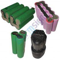 18V Li-ion szerszámgép akku felújítás 4Ah (Samsung cella)