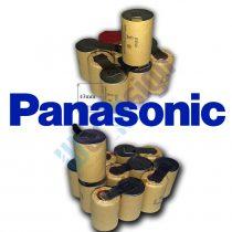 9,6V szerszámgép akku felújítás Ni-Cd (Panasonic cella)