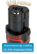 Bosch 2 607 336 014 li-ion akku felújítás 10,8V 2Ah