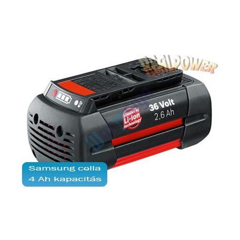 36V-os Bosch li-ion akku felújítás 2 607 336 108 4Ah