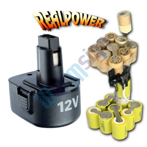 Black & Decker Fúrócsavarozó HP12RB Radio akkumulátor felújítás 12 V