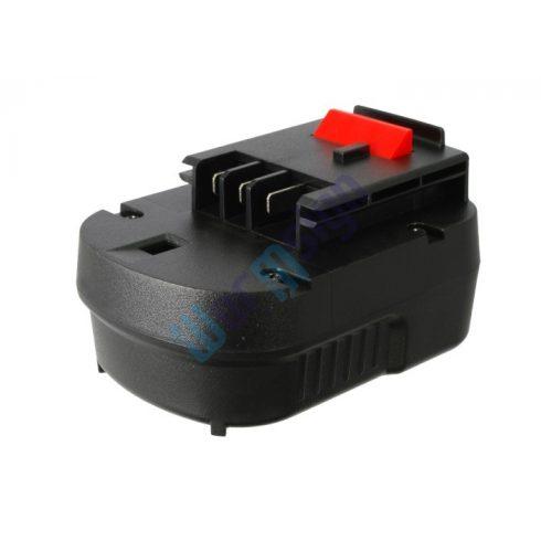 Black & Decker ütvefúró HP122K akku felújítás 12 V