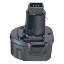 Black & Decker Fúrócsavarozó CD9602K akku felújítás 9,6 V