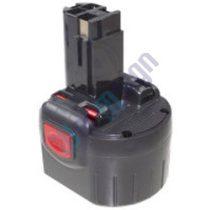 Bosch lámpa PLI akkumulátor felújítás 9,6 V