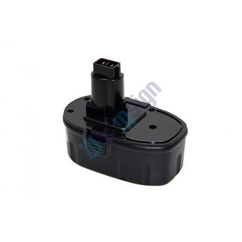 DEWALT zseblámpa DW906 akkumulátor felújítás 14,4 V