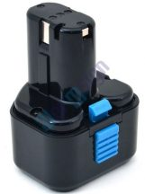 Hitachi CL10D akku felújítás 9,6 V