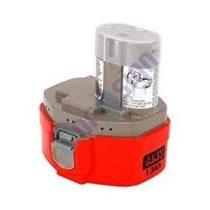 Makita fúrócsavarazó-/rádió-/lámpa szet Master-Line 6336DWRDE akku felújítás 14,4 V