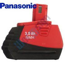 Hilti SFB 185 akkumulátor felújítás 18V 3ah Ni-Mh Panasonic cellával