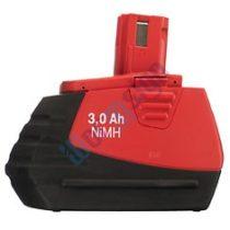 Hilti SFB 185 akkumulátor felújítás 18V 3ah Ni-Mh