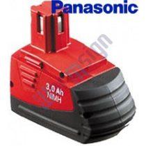 Hilti SFB 126 akku felújítás 3Ah Panasonic cellával
