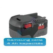 AEG L1830 akku felújítás li-ion 4Ah