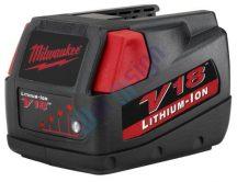 Milwaukee V18 li-ion szerszámgép akkumulátor felújítás