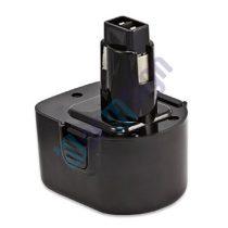 Black&Decker A9252 - 4/5SC - 12V akku felújítás 2000 mAh Ni-CD