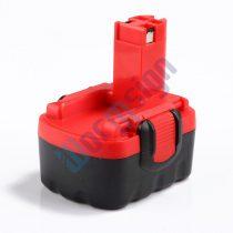 Bosch 2607335275 / 2607335276 - 14,4V akku felújítás 2000 mAh Ni-CD