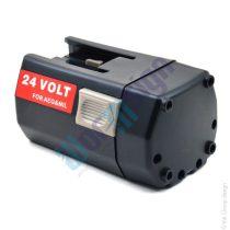 mafell 094400 - 24V akku felújítás 2000 mAh Ni-CD