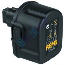 REMS 571510 - 12V akku felújítás 2-3 Ah Ni-MH