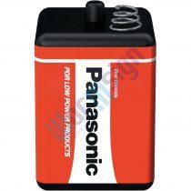 Panasonic Red Zinc rugós csatlakozós 6V cink-mangán tartóselem