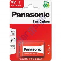 Panasonic Red Zinc 9V blokk cink-mangán tartóselem