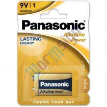 Panasonic Alkaline Power 9V blokk alkáli/tartós elemcsomag