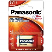 Panasonic Pro Power 9V blokk szupertartós alkáli elem