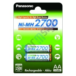 Panasonic BK-3HGAE/2BE AA 2700mAh Ni-MH akkumulátor