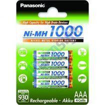 Panasonic BK-4HGAE/4BE AAA 1000mAh Ni-MH akkumulátor
