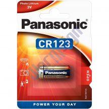 Panasonic CR123A lítium fotóelem