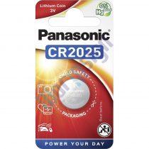 Panasonic CR2025/1B-PAN lítium gombelem