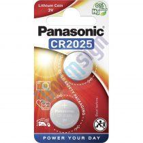 Panasonic CR2025L/2BP lítium gombelem (2 db / bliszter)