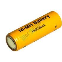 Panasonic BK120AA 1,2V 1150mAh Ni-MH ipari akkumulátor (HHR120AAB40)