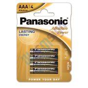 Panasonic Alkaline Power AAA mikro 1.5V alkáli/tartós elemcsomag LR03APB-4BP