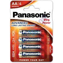 Panasonic Pro Power AA ceruza 1.5V szupertartós alkáli elemcsomag LR6PPG-4BP