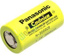 Panasonic N3000CR 1,2V 3200mAh Ni-Cd ipari akkumulátor cella