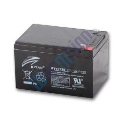 RItar RT12120-F2 12V 12Ah zárt ólomakkumulátor