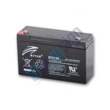 RItar RT6120-F1 6V 12Ah zárt ólomakkumulátor