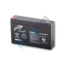 RItar RT680-F1 6V 8Ah zárt ólomakkumulátor