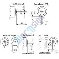 Tadiran SL750-S 3,6V 1/2AA 1,1Ah ipari elem