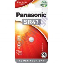 Panasonic SR41EL/1B ezüst-oxid gombelem 392