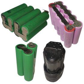Sony/Samsung cellás (2Ah-4Ah Lithium-ion)